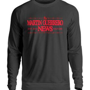 Martin Guerrero News Sweatshirt - Unisex Pullover-1624