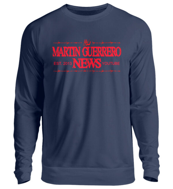 Martin Guerrero News Sweatshirt - Unisex Pullover-1676