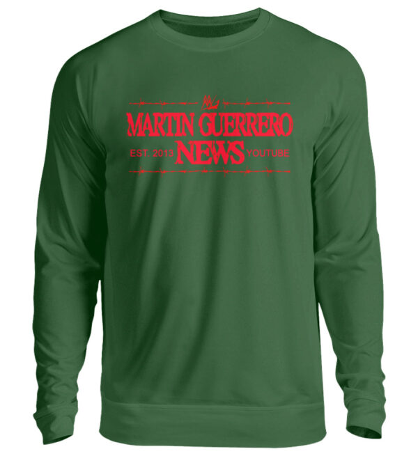Martin Guerrero News Sweatshirt - Unisex Pullover-833