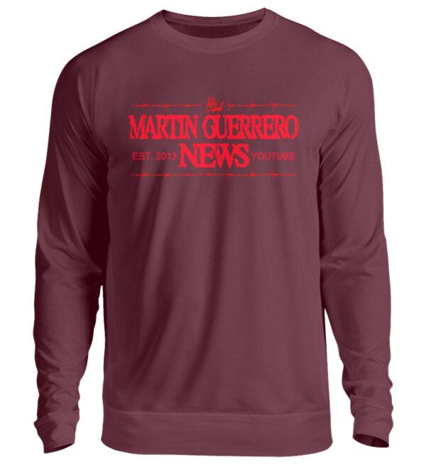 Martin Guerrero News Sweatshirt - Unisex Pullover-839