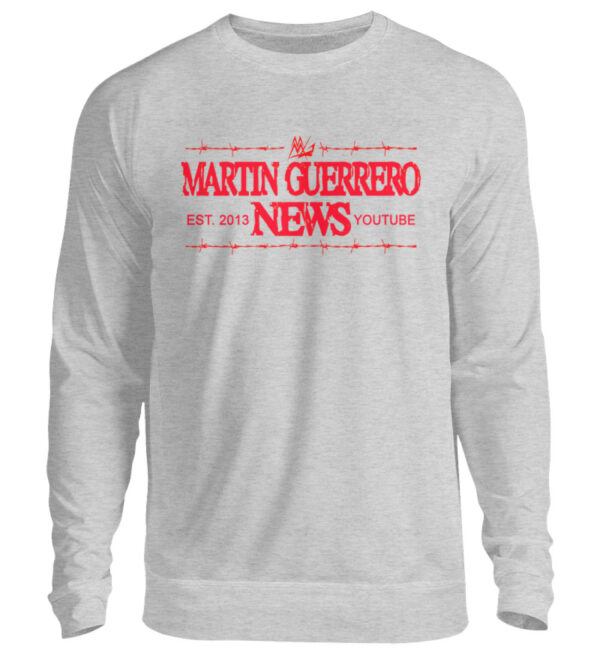 Martin Guerrero News Sweatshirt - Unisex Pullover-17