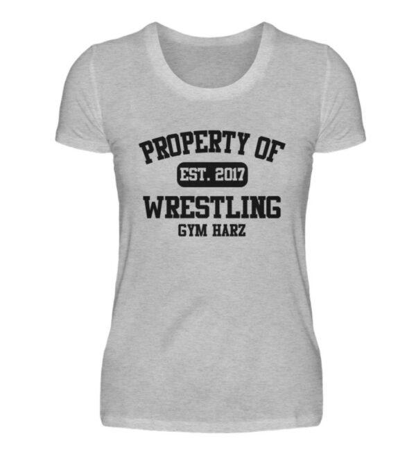 Property Wrestling Gym Harz - Damenshirt-17
