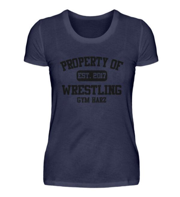 Property Wrestling Gym Harz - Damenshirt-198