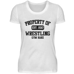 Property Wrestling Gym Harz - Damenshirt-3