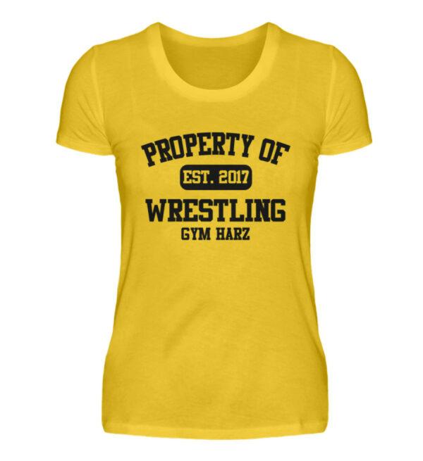 Property Wrestling Gym Harz - Damenshirt-3201