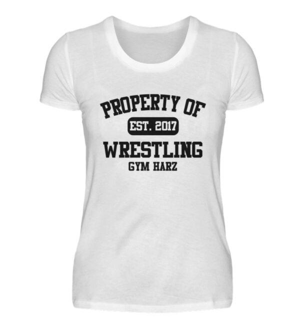 Property Wrestling Gym Harz - Damenshirt-3