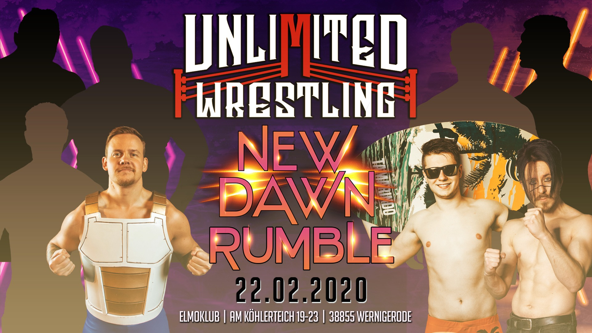 15 Men New Dawn Rumble