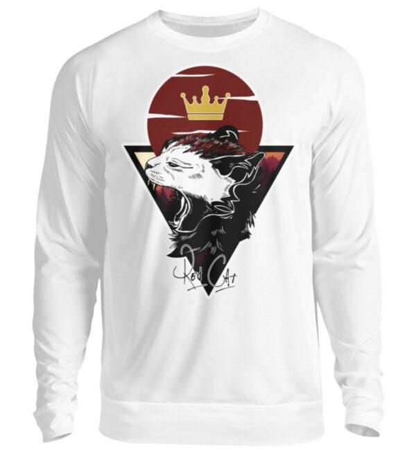 Red Cat Logo Sweatshirt - Unisex Pullover-1478