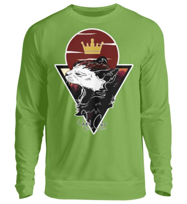 Red Cat Logo Sweatshirt - Unisex Pullover-1646