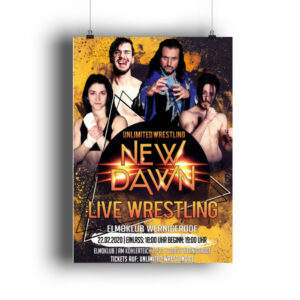 Unlimited New Dawn 2020 Poster - DIN A2 Poster (hochformat)-3