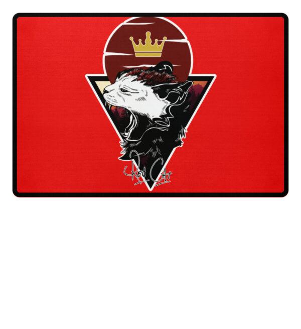 Red Cat Logo Fußmatte - Fußmatte-5761
