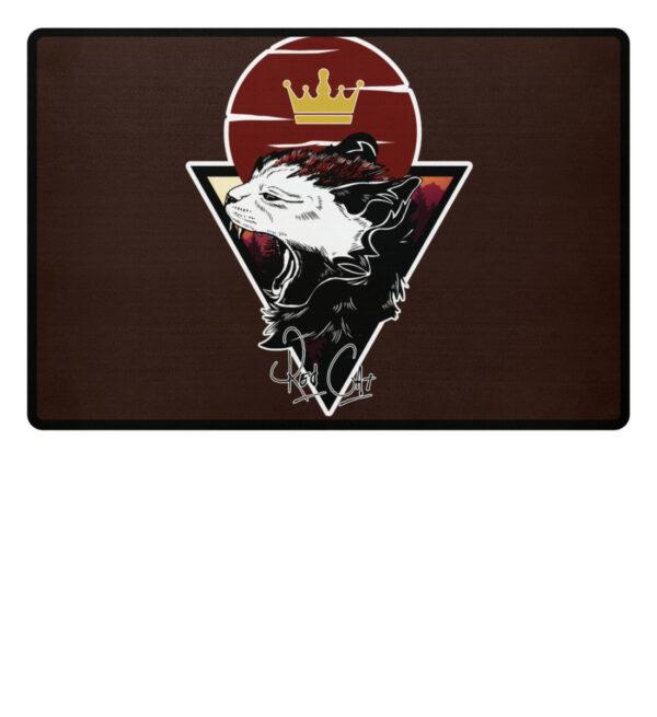 Red Cat Logo Fußmatte - Fußmatte-1074