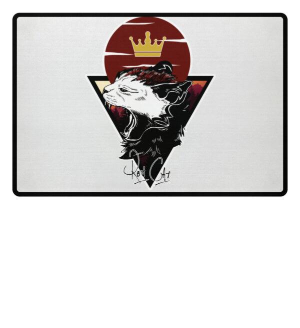 Red Cat Logo Fußmatte - Fußmatte-3