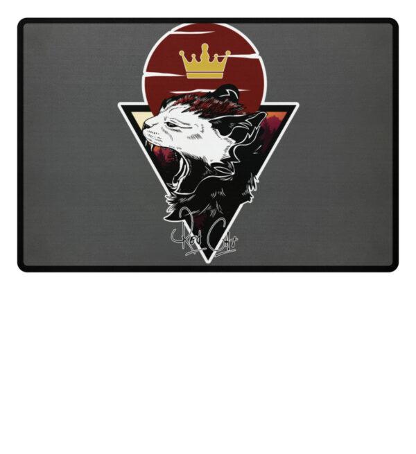 Red Cat Logo Fußmatte - Fußmatte-6778