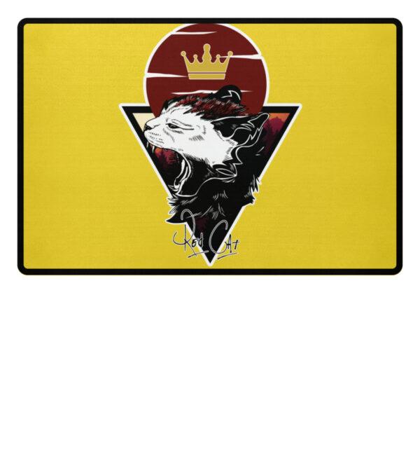 Red Cat Logo Fußmatte - Fußmatte-5766