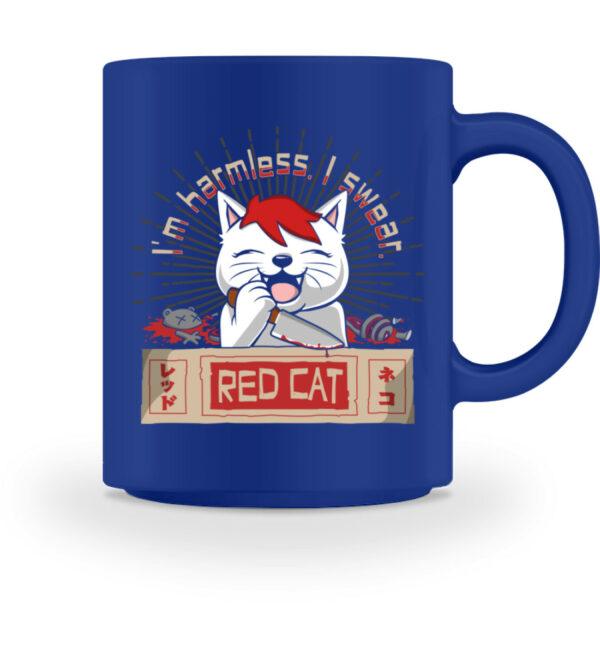 Red Cat Harmless Tasse - Tasse-27
