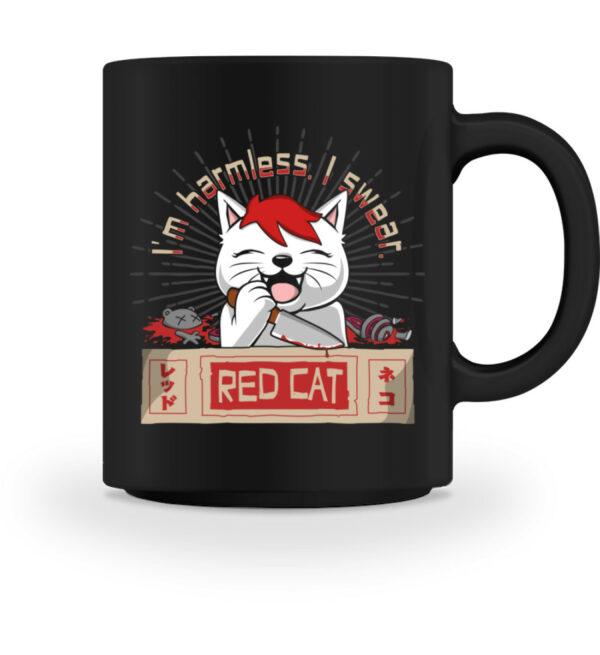 Red Cat Harmless Tasse - Tasse-16