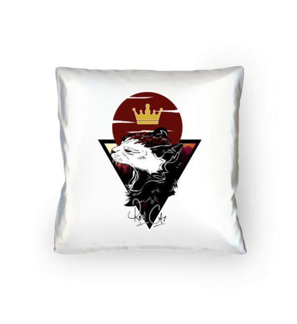 Red Cat Logo Kissen - Kopfkissen 40x40cm-3