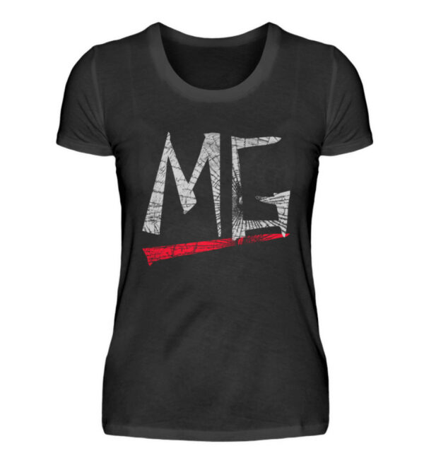 MG Glas Logo Girlie - Damenshirt-16