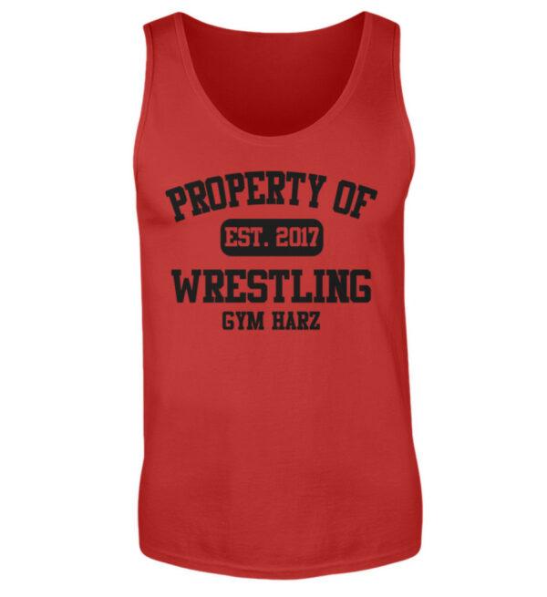 Property Wrestling Gym Tanktop - Herren Tanktop-4