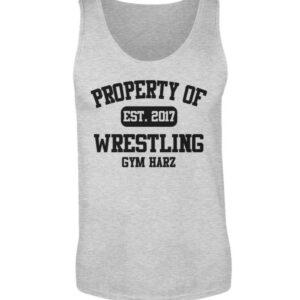 Property Wrestling Gym Tanktop - Herren Tanktop-236