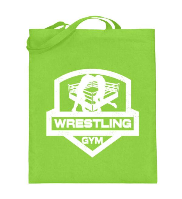 Wrestling Gym - Jutebeutel (mit langen Henkeln)-5753
