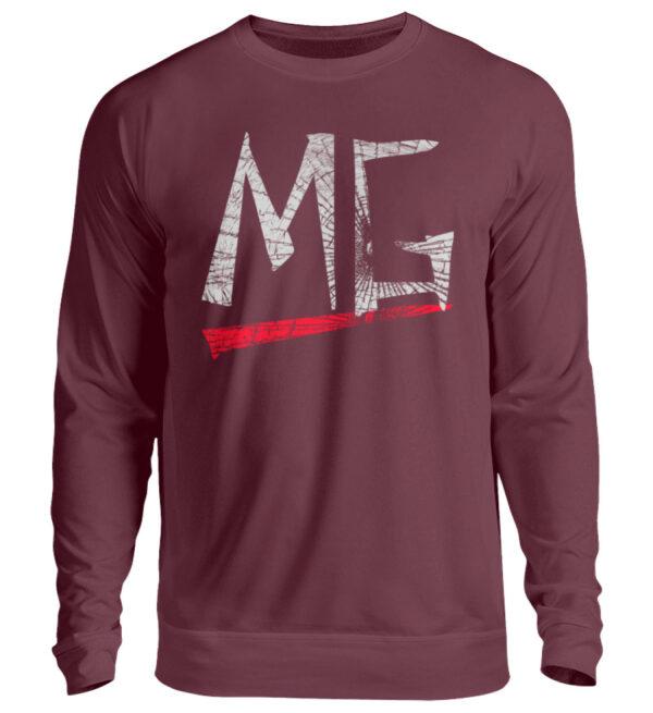 MG Glas Logo Sweatshirt - Unisex Pullover-839