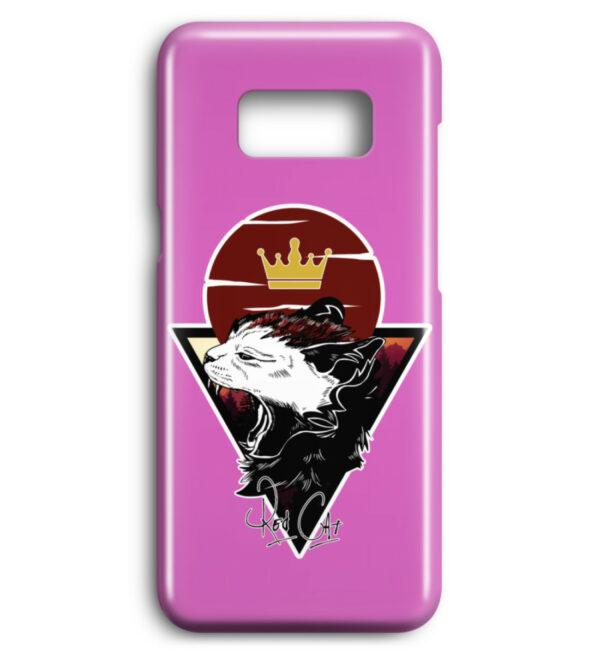 Red Cat Logo Handyhülle - Premium Case Handyhülle-5759