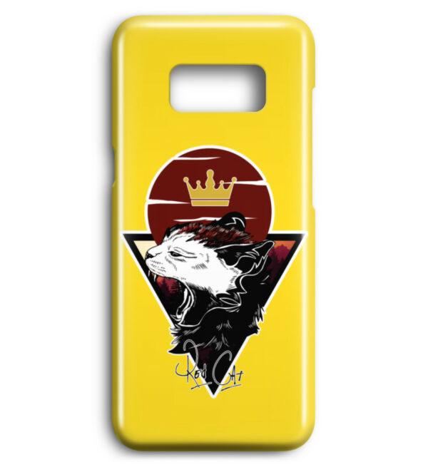 Red Cat Logo Handyhülle - Premium Case Handyhülle-5766