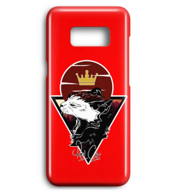 Red Cat Logo Handyhülle - Premium Case Handyhülle-5761