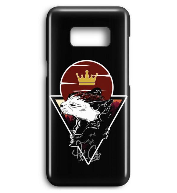 Red Cat Logo Handyhülle - Premium Case Handyhülle-16
