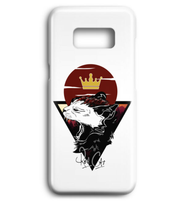 Red Cat Logo Handyhülle - Premium Case Handyhülle-3