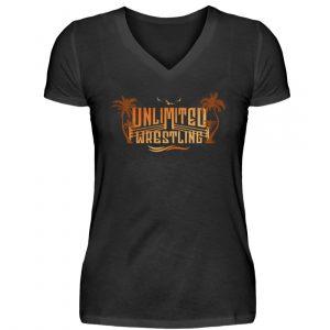 Unlimited Summer Girlie V-Neck - V-Neck Damenshirt-16